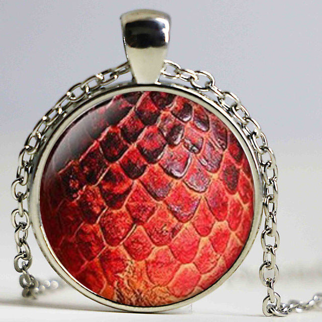 Stunning Dragon Egg Pedant Necklace