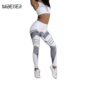 Fashion Work Out Elastic Leggings