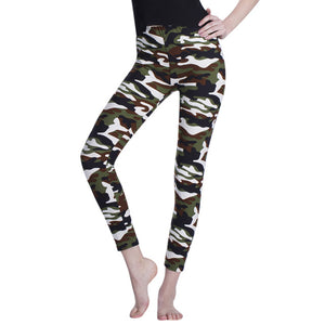 Camouflage Legging Summer Leisure Jegging