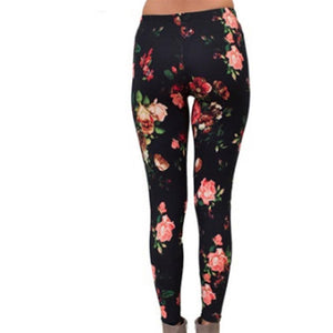 Flower Legging Elasticity Seamless