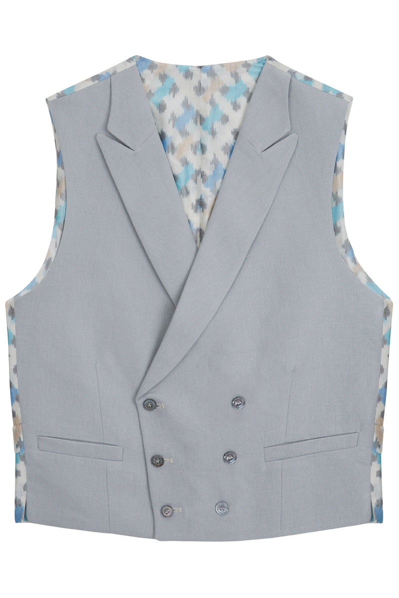 Daavi double breasted waistcoat