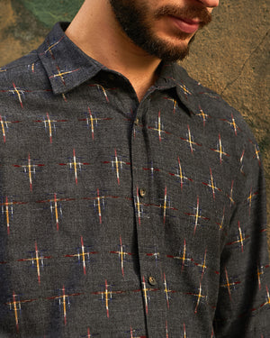 Neywara brushed cotton shirt