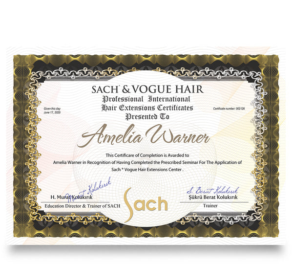SACH & VOGUE HAIR EXTENSIONS ACADEMY