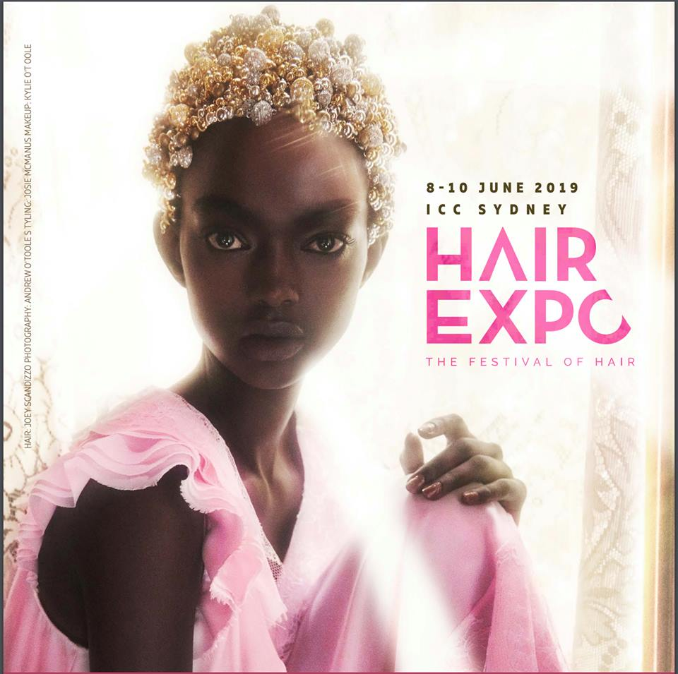 SACH & VOGUE HAIR Exhibiting Our Hair Extensions Products 2019 HAIR EXPO AUSTRALIA in SYDNEY