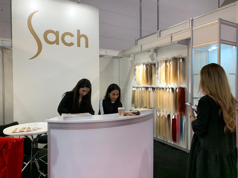 Sach Hair at 2019 TOP HAIR - DIE MESSE Düsseldorf Exhibition