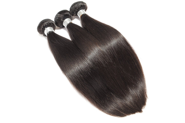 100% Human Straight Virgin Hair Bundles Turkish Anatolian Hair Weft