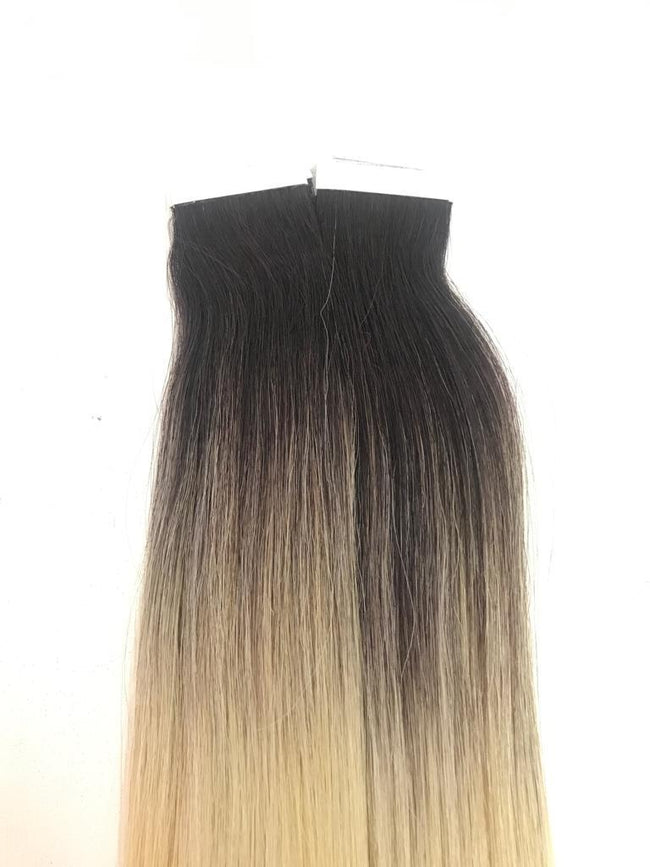 Tape in Hair Extensions Ombre Color