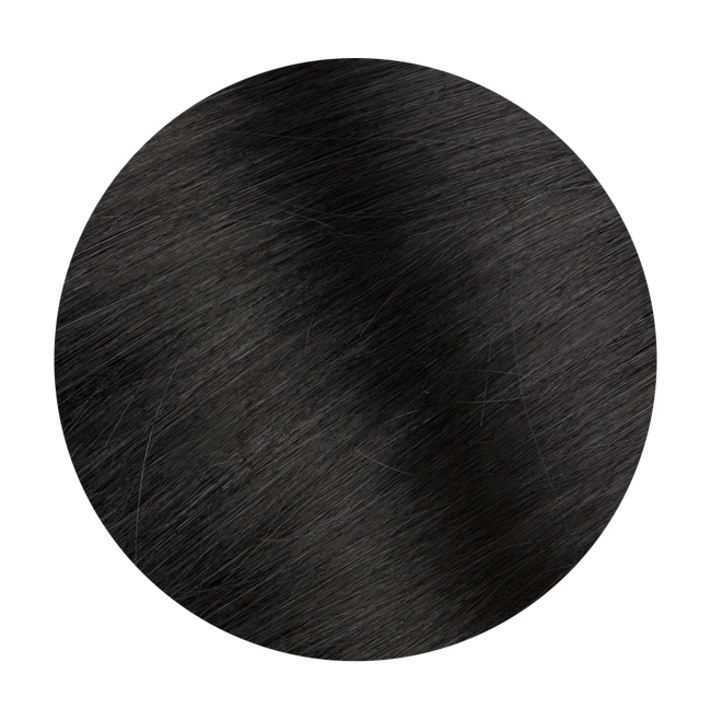 Tape in Hair Extensions Color 1 Jet Black