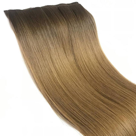Clip In Hair Extensions Jet Black 1