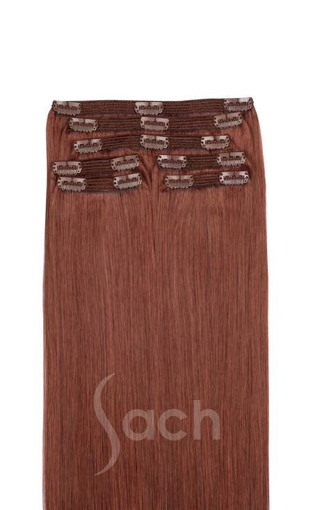 Copper Clip In Hair Extensions 27