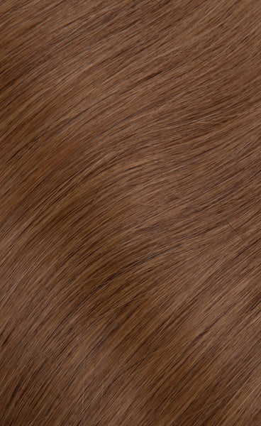 Golden Brown Color 12 Clip In Hair Extensions