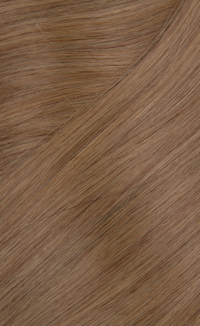 Medium Ash Blonde Clip in Hair Extensions Color 10