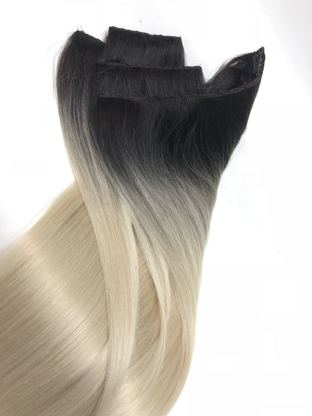 Ombre 1-61  Clip In Hair Extensions