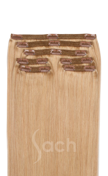 Clip in Hair Extensions Sun Kissed Blond Color 27