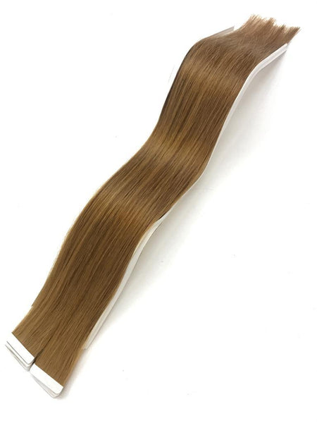 Tape in Hair Extensions 8A Slavic Ash Blond Color