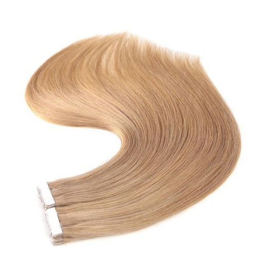 Tape in Hair Extensions Color 18 Honey Blonde