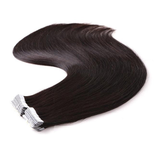 Tape in Hair Extensions Color 2 Dark Espresso