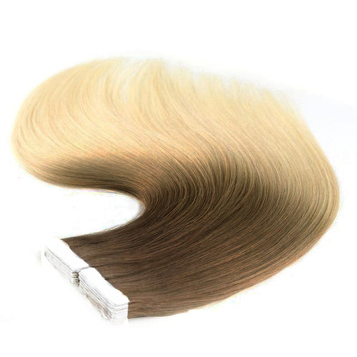 Tape in Hair Extensions Ombre 631-613 Dulce De Leche