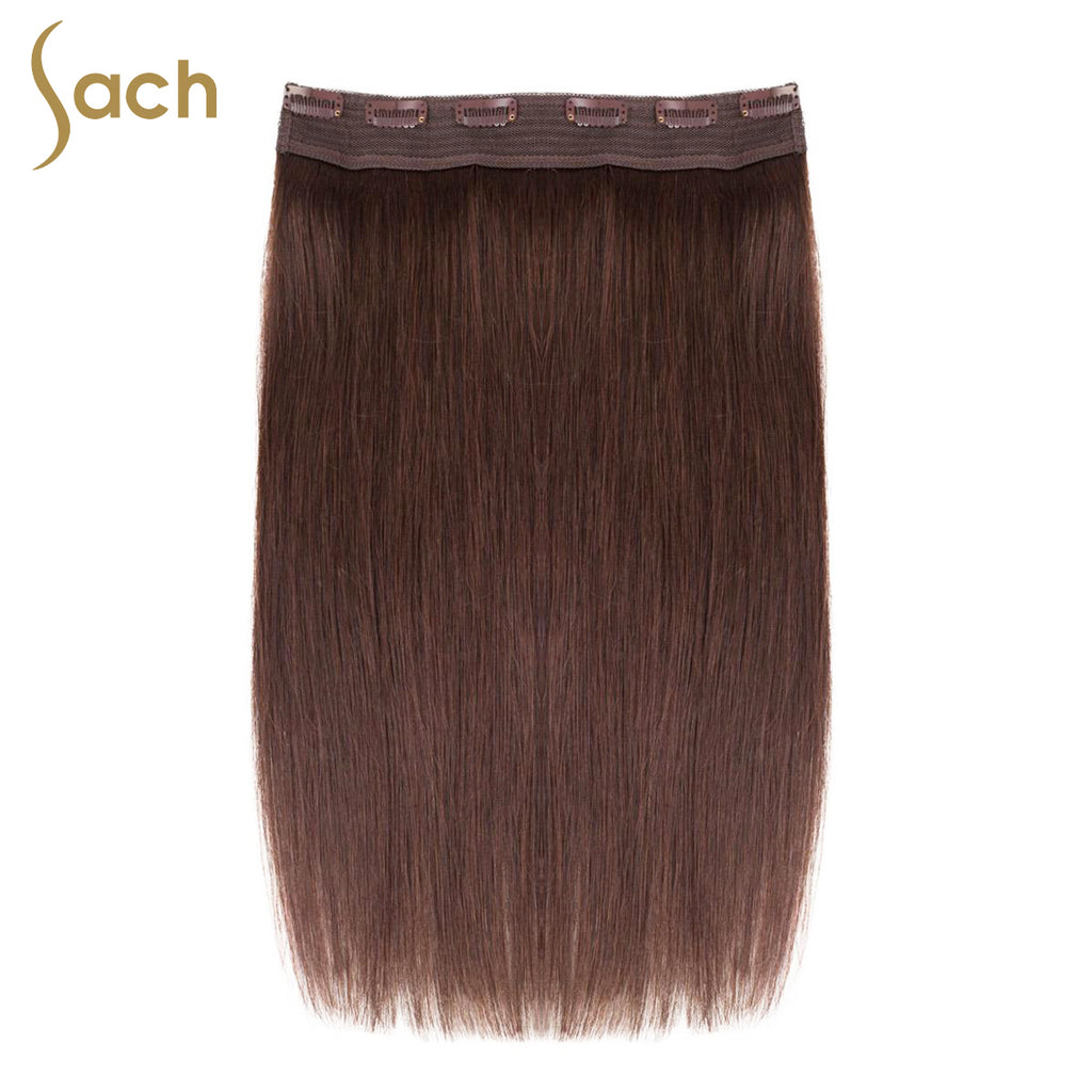 Thick One Piece 34 Full Head Clip In Hair Extensions Color 3