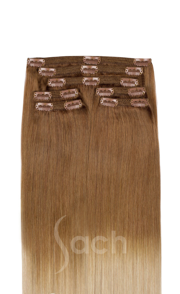 Touch Me Ombre Clip In Hair Extensions 10 613 Sach Hair