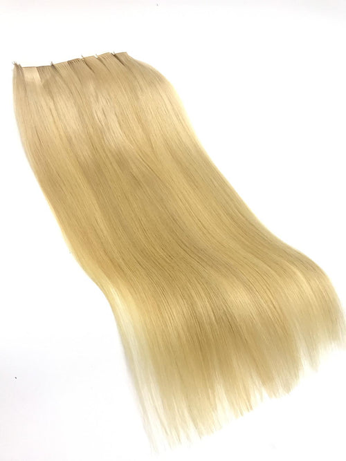 butterfly blonde tape in hair extensions