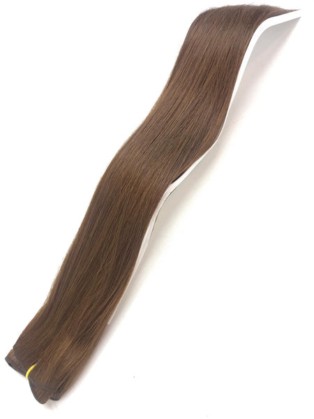 Weft Hair Extensions Human Hair Color #613 Beach Blonde