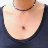 HEAL | AMETHYST GOLD NECKLACE - Bohome + Roam