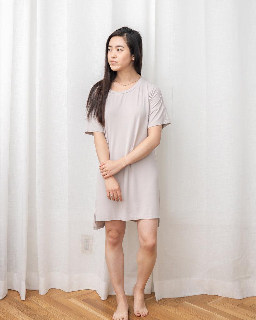 Restful Nightie - Beige