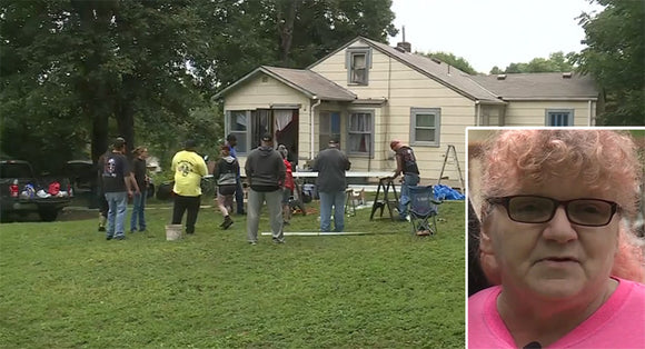 Dozens Of Strangers Save Grandmother's Home From Being Condemned By The City