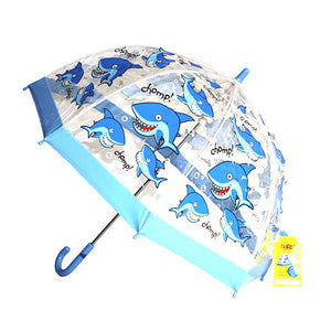 SHARK PVC CHILDRENS UMBRELLA