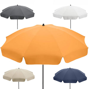 UPF 50 BEACH UMBRELLA WITH VALANCE