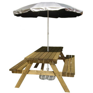 SILVERBACK UV PROTECTIVE GARDEN AND BEACH PARASOL