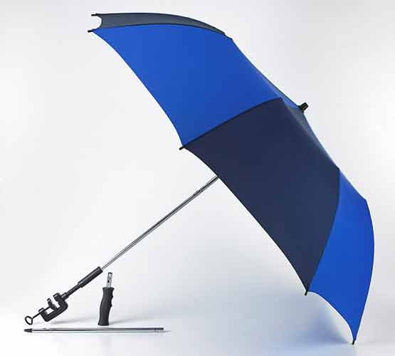 FULTON TRI BRELLA TRAVEL UMBRELLA CLAMP UMBRELLA BEACH UMBRELLA