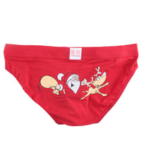 Christmas Mens Santa Claus Triangle Briefs Shorts Pouch Soft Underwear