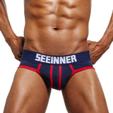 Mens Sexy Underwear Shorts Men Underpants Soft Cotton Breathable Briefs Panties