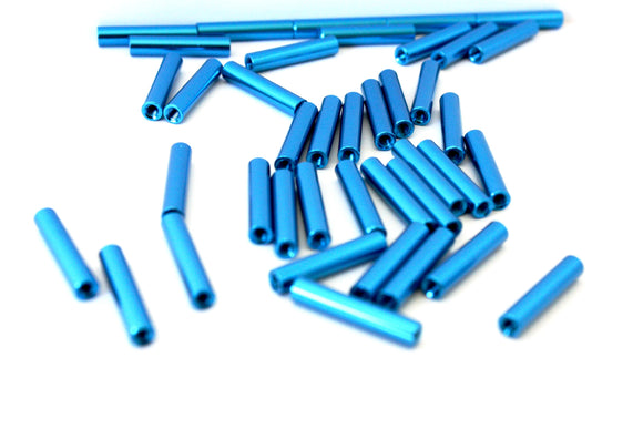 30MM M3 ROUND STANDOFFS (6 pack)