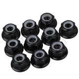 M5 ALUMINUM FLANGED PROP NUTS 6MM (6 pack)
