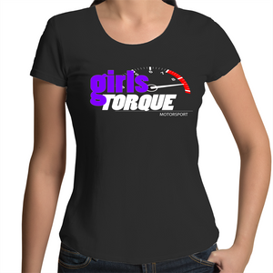 Womens Scoop Neck T-Shirt (Girls Torque)