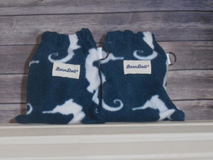 SeaHorses Saddle Cover