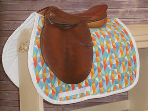 Confetti Shapes AP Saddle Pad