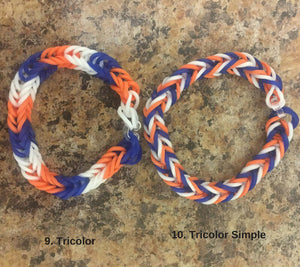 Blue Orange White Rainbow Loom Colorful Fishtail Simple Bracelet USA (Proceeds donated to the Human Rights Campaign), [product_type], Got A Light Soy Candles, [variant_title]