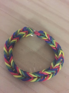 Puzzle Rainbow Loom Colorful Fishtail Simple Bracelet Autism Awareness (Proceeds donated to the Human Rights Campaign), [product_type], Got A Light Soy Candles, [variant_title]