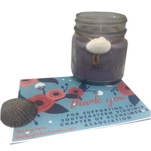Got A Light To Remember 8oz Mason Jar Purple Soy Candle to Support Alzheimer's, [product_type], Got A Light Soy Candles, [variant_title]
