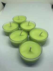 Cool Citrus Basil Pack of 6 Tealights, [product_type], Got A Light Soy Candles, [variant_title]