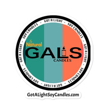 GALS Candles Bubble-free stickers, [product_type], Got A Light Soy Candles, 5.5x5.5