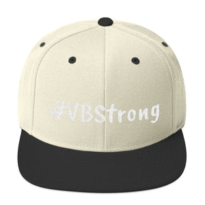 #VBStrong Snapback Hat, [product_type], Got A Light Soy Candles, Natural/ Black
