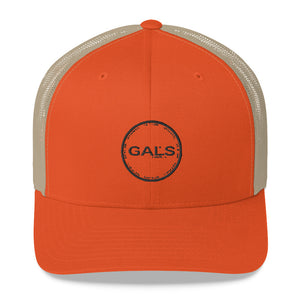 Trucker Cap, [product_type], Got A Light Soy Candles, Rustic Orange/ Khaki