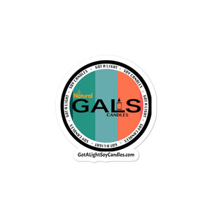 GALS Candles Bubble-free stickers, [product_type], Got A Light Soy Candles, 3x3