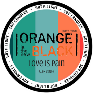 PRE-ORDER 8oz Alex Vause Rose OITNB Limited Edition Organic Candle, [product_type], Got A Light Soy Candles, [variant_title]