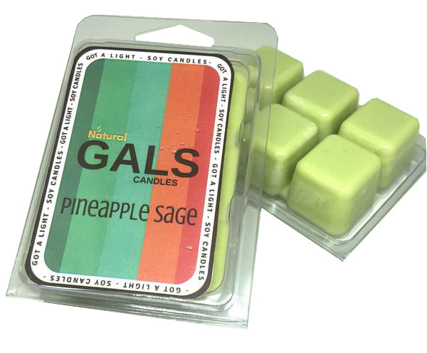 SALE - Pineapple Sage Soy Wax Melt Organic, [product_type], Got A Light Soy Candles, [variant_title]